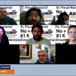 Presidente Nacional ANEF Jose Perez Debelli, emplaza a Fiscal Nacional a No aplicar 81 K